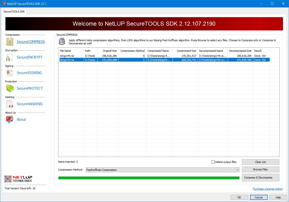 NetLUP Xtreme Technology launch of SecureTOOLS SDK V2.12